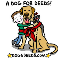 Getting Deeds to His Dog