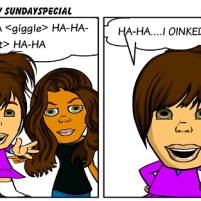"""Sunday Special Comics – """"OINK"""" – 08-07-2011"""