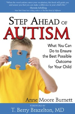 Step Ahead of Autism by Anne Moore Burnett