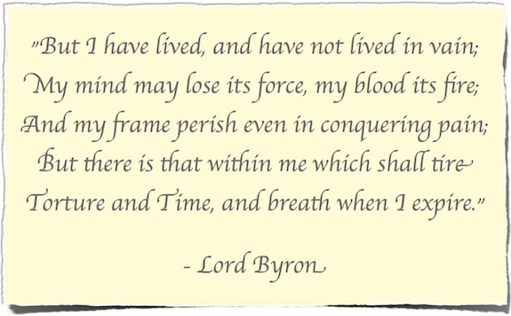 Lord Byron Quote: An Advocate's Purpose