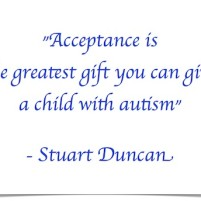 Acceptance is…. Quote by Stuart Duncan – Friday Finish