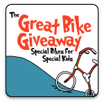 Announcement – Great Bike Giveaway: Special Bikes for Special Kids