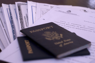 Passport & important paperwork - BlMurch / Flickr