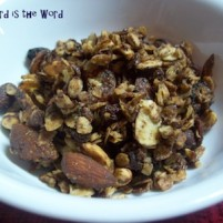 GFCF Chocolate Granola