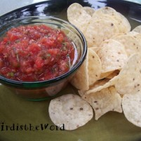 Bird's Salsa Recipe
