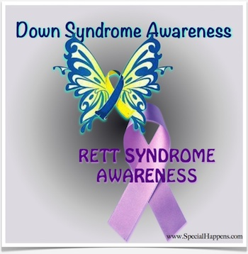 Remembering Adam and Amy: October Down and Rett Syndrome Awareness Month