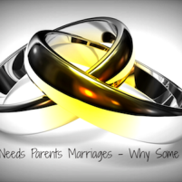 Special Needs Parents Marriages – Why Some Succeed