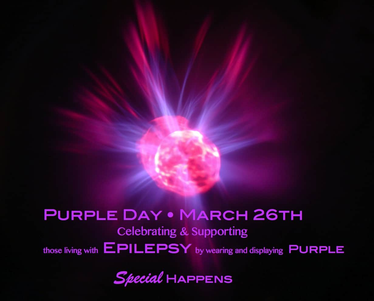 Spreading Epilepsy Awareness March 26th