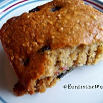 Bird's Blueberry Banana Bread