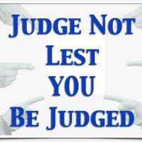 Judge Not Lest You Be Judged – Are Special Needs Parents Judgmental?