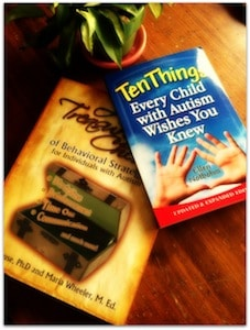 Ten Things Giveaway for Autism Awareness