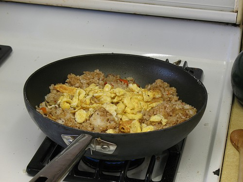 Dinner Special Needs Style - How to Make Fried Rice John Style