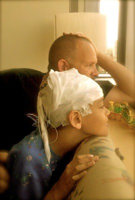 EEG - Visit with daddy