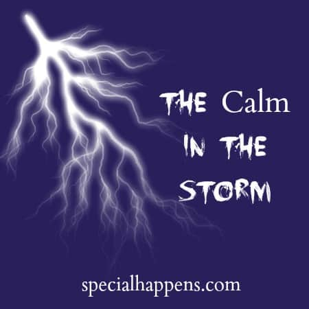 The Calm in the Storm |  SpecialHappens.com