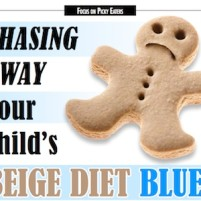 Chasing Away Your Child's Beige Diet Blues | Sensory Focus Magazine