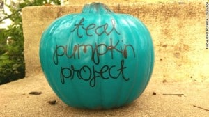 Teal Pumpkin Project for Kids With Allergies