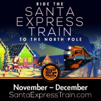 Getting Ready for the Holidays in Colorado with the Santa Express Train