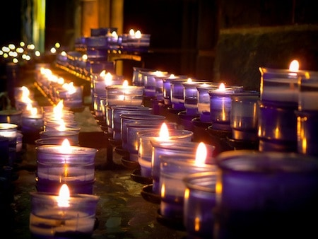 Prayer Candles by Ronan C via Flickr