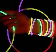 Glow Bracelets in Last Minute Halloween Preparation